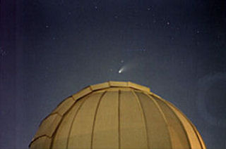 "Hale-Bopp over 24"" dome"